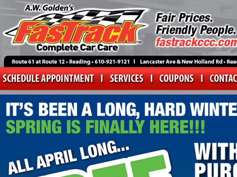 Fastrack Complete Care Care Spring Email Blast