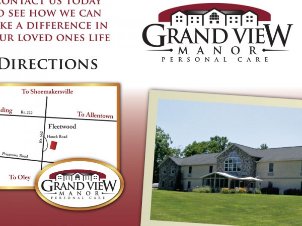 Grand View Manor Personal Care Brochure