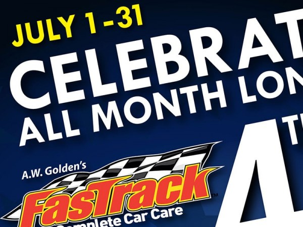 Fastrack Complete Care Care 4th of July Email Blast