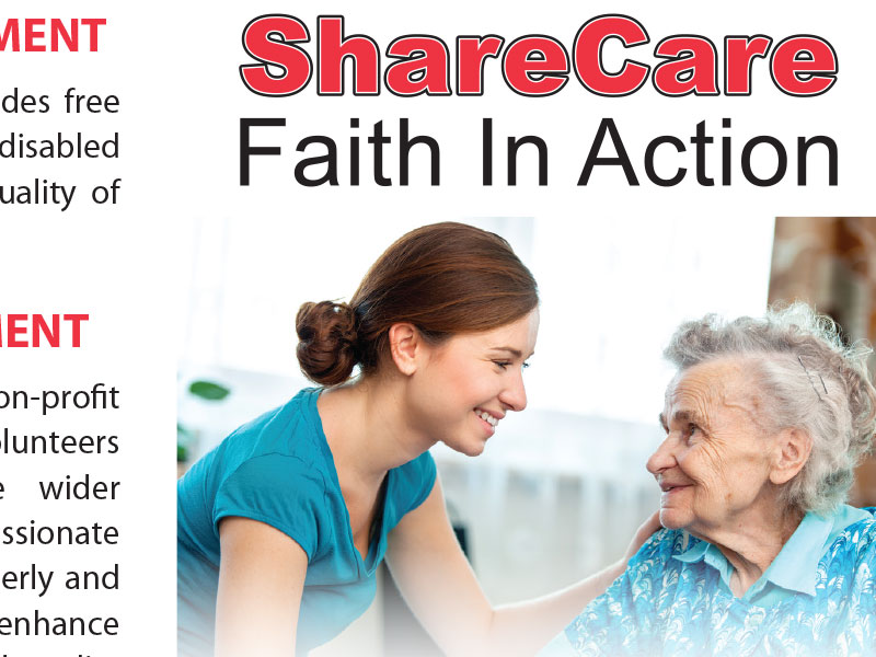 ShareCare Faith In Action Brochure