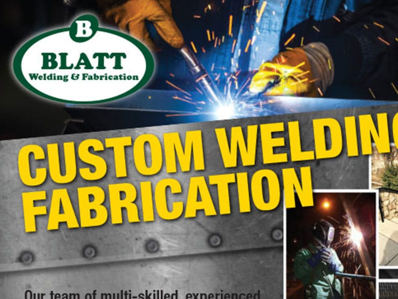 The Blatt Group – Welding Flyer